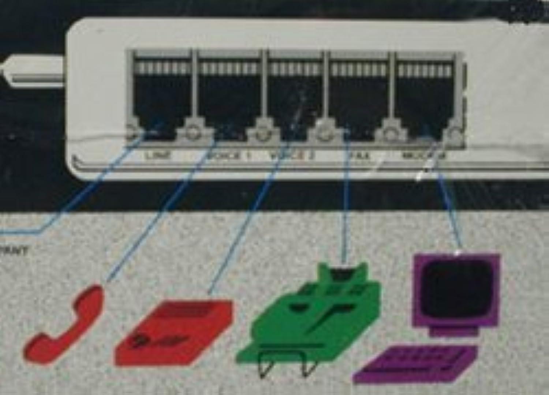 WMU - Multi-link 4-port Fax Switch [並行輸入品]