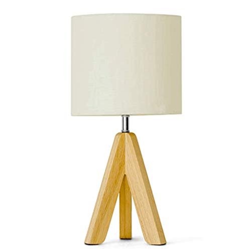 LC Japanse stijl hout kunst tafellamp slaapkamer bedlampje Nordic beddengoed bedlampje (knop schakelaar) L