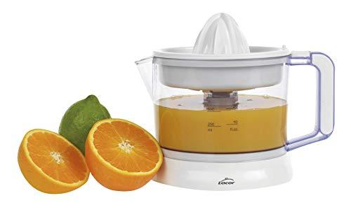 Lacor Zitrus 69575 Saftpresse mit einstellbarem Fruchtfleischsystem, BPA-frei, spülmaschinenfest, 40 W