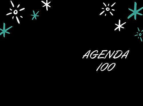 Agenda journalier pour 100 jours   Taches à réaliser   Objectifs   Notes   Planifier votre journée   Organise votre taches   Idée cadeau de fin d'année (French Edition)