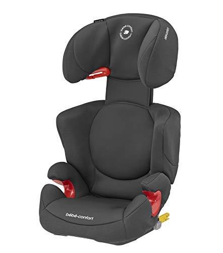Bébé Confort Rodi XP Fix Autositz Gruppe 2/3 (15 bis 36 kg), Isofix, von 3,5 bis 10 Jahren, Basic Black (schwarz)