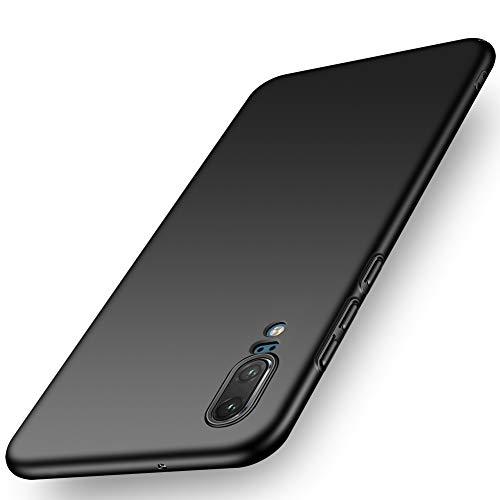 Preisvergleich Produktbild ORNARTO Hülle für Huawei P20,  Ultra Dünn Schlank Stoßfest,  Anti-Scratch FeinMatt Einfach Handyhülle Abdeckung Stoßstange Hardcase für Huawei P20(2018) 5.8'