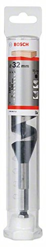 Bosch 2608585712 Auger Drill Bit, Hex Shank, 32mm x 100mm x 160mm, Black/Silver