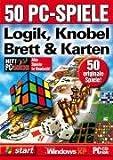 50 PC-Spiele Logik, Knobel, Brett und Karten. CD-ROM für Windows ab 98