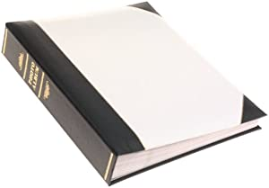 "Pioneer Ledger 5"" X 7"" Bi-Directional Le Memo Album, White"