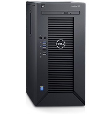 2018 Newest Flagship Dell PowerEdge T30 Business Mini Tower Server System - Intel Pentium G4400 3.3GHz 3M Cache, 8GB UDIMM RAM 2400MT/s, 1TB Hard Drive 7200RPM, HDMI, No Operating System - Black