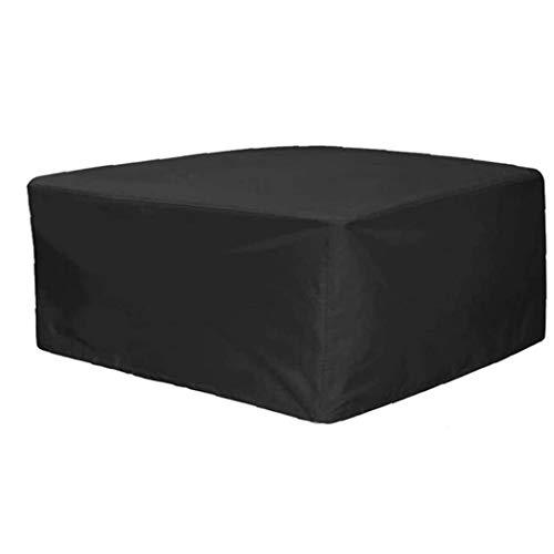 lulongyansf Cubierta Protectora Impermeable Rectangular Muebles de jardín Cubierta para Muebles de jardín Mesas Conjuntos