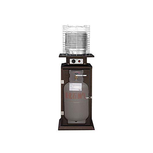 xinxinchaoshi Calefactor Portátil Calentador de terraza, Calentador de Gas licuado doméstico, Estufa Interior Ventilador Calefactor