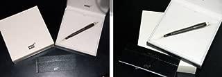 Mont Blanc Starwalker Metal Fountain Pen, Midnight Black, Medium Nib (105647)