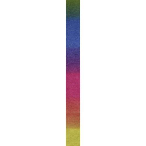 LANG YARNS Super Soxx Cashmere Color - Farbe: Regenbogen (0025) - 100 g / ca. 380 m Wolle