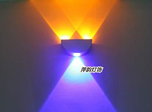 Jane creatieve aluminium LED wandlamp gang gang gang fotografie verlicht TV zand achtergrond wandlamp