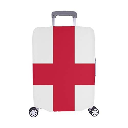(Solo Cubrir) Cubierta Protectora para Oficial de la Maleta del Protector del Equipaje del Viaje de la Caja de la Carretilla del de Inglaterra 28.5 X 20.5 Pulgadas