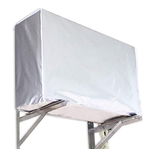 GreeSuit Cubierta de aire acondicionado para exteriores protege la cubierta del polvo, impermeable, resistente al sol, para el hogar (94 x 40 x 73 cm)