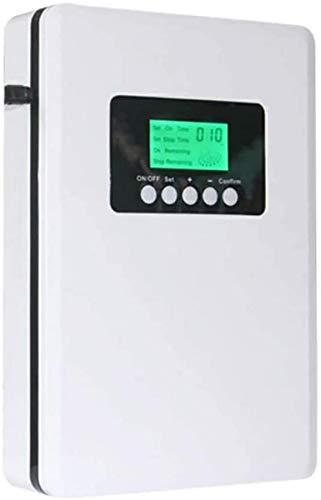 Wghz Generador de ozono y eliminador de Aire de 110 V a 240 V, generador Comercial, máquina de ozono de 5000 MG/h, ionizadores de Aire domésticos, Orificio de Montaje en Pared para Habitaciones