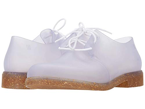 Melissa - Womens Glow Ad Oxford Shoe, Size: 6 M US, Color: Grey Clear