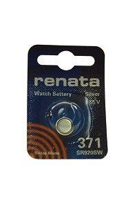 Batterie Silberoxyd Renata 371, 1er