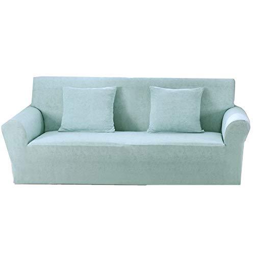 ZUOLUO Sesselbezug Bezug für Sofa Zerkleinert samt Sofa abdeckungen Hund Sofa abdeckungen Klippan Sofa Abdeckung Liege Stuhl abdeckungen für Sessel 145-185,Sky Blue