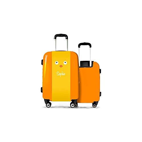 Valise CALIBAG (Format Cabine) Enfant Poussin Orange