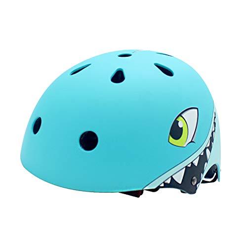 YGJT Caschi Bici per Bambini degli Cartone Animato Sicurezza Protezione della Testa S 50-54CM per Bambini dai 2-5 Anni Leggero Traspirante