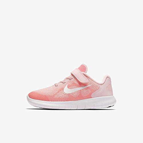 Nike Kinder Laufschuh Free Run 2018, Zapatillas de Entrenamiento Unisex Niños, Rosa (Arctic Punch/Mtlc Su 602), 28 EU