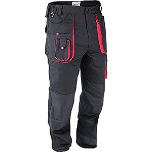 Yato trabajo Pantalones Ropa De Trabajo Seguridad Pantalones Negro Buena Calidad Nuevo Tamaño S–XL