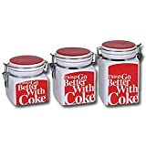 Things Go Better Coca-Cola Canister Set
