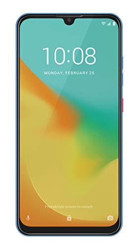 ZTE Smartphone Blade 10 VITA (16 cm (6,26 Zoll) HD+ Display, 4G LTE, 64 GB interner Speicher, 13 MP AI Dual-Kamera und 8 MP Frontkamera, Dual-SIM, Android 9) Blau