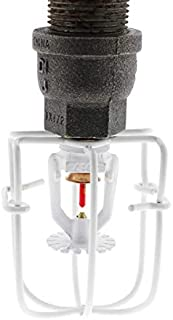 """Fire Sprinkler Standard Head Guard For 1/2"""" Exposed Heads, Available In Multiple Colors (White)"""
