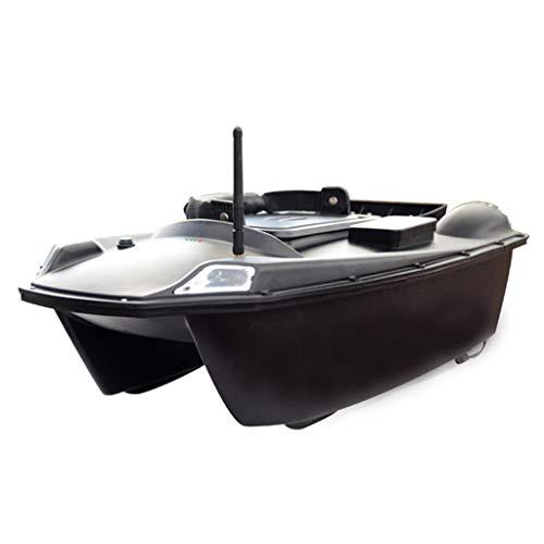 Smart RC Bait Boat 500M Telecomando Multifunzionale con Doppio Motore E 2 Serbatoi per Esche Attrezzo da Pesca per Barche da Pesca per Bambino Compleanno per Adulti Regali di Natale