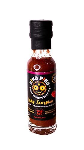 Frutto di bosco – Trinidad Scorpion (100 ml.) / Piccante Criminale - 9 di 10/ Me 10 / 1 posto Premio Golden Chile (Ultra-Hot) 2018, TX,USade in Germany con cuore venezuelano