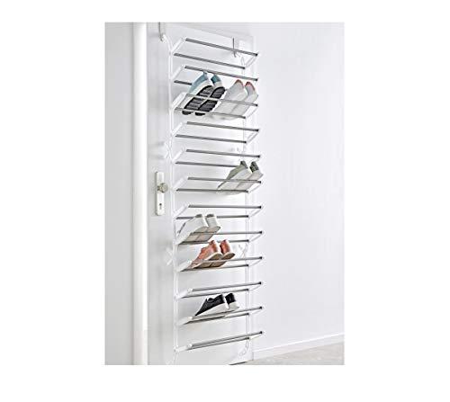 Pureday miaVILLA Schuhregal für die Tür - Zum Hängen - Für bis zu 36 Paar Schuhe - Kunststoff,...