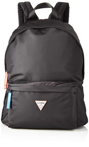 GuessSmart BackpackHombreMochilasNegro (Black)12x42x31 centimeters (W x H x L)