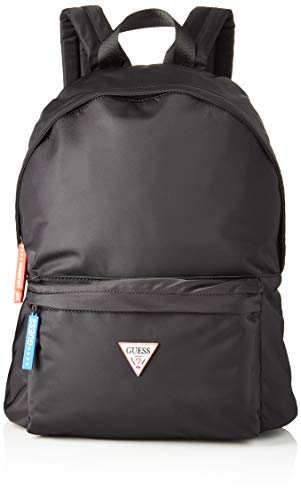 GuessSmart BackpackHombreMochilasNegro (Black)12x42x31 centimeters (W x H x L)