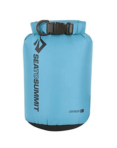 SEA TO SUMMIT Lightweight 70D Dry Sack-2 litros Saco Montañismo, Alpinismo y Trekking, Adultos Unisex, Azul (Blue), Talla Única
