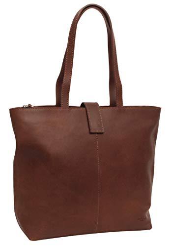 Gusti Handtasche Leder - Alexandra Shopper Ledertasche Braun
