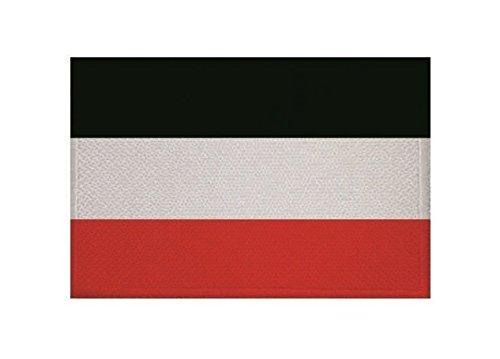 U24 Aufnäher Deutsches Reich Kaiserreich Fahne Flagge Aufbügler Patch 9 x 6 cm
