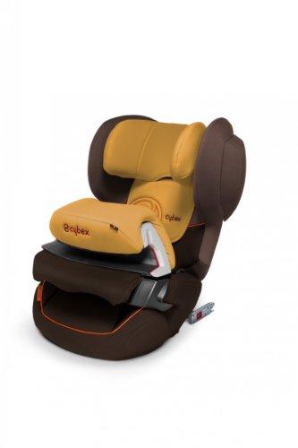 Cybex Juno Fix–Auto-Kindersitz Gruppe 1(9–18kg), 9meses-4Jahre mit Isofix, braun/ocker
