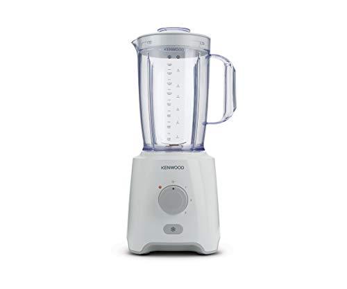 Kenwood Blender BLP400WH, Mixeur pour Soupe et Smoothie, Capacité bol 2L, Blanc