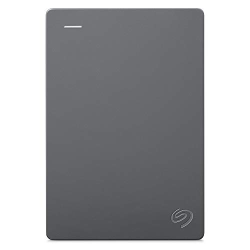 "Seagate Basic, 5 To, Disque Dur Externe 2, 5"", USB 3.0, PC portable, Gris (STJL5000400)"