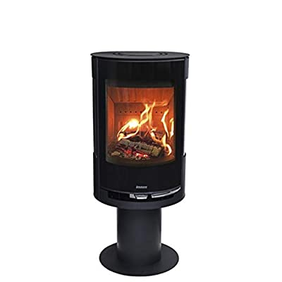 Aduro 9-3 6kW Black Contemporary Wood Burning Stove DEFRA Approved