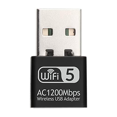 Ashley GAO Usb Dual Band Wireless Ac Adapter Scheda di Rete 1200Mbps 2.4ghz 5.8ghz Scheda di Rete Supporto Wifi Adattatore