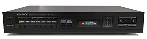 Kenwood KT-54L Stereo Tuner in schwarz
