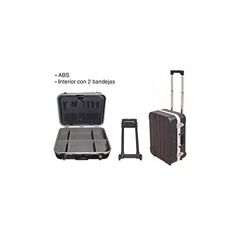 Maleta para herramientas 455x340x185 maleta reforzada 2 bandejas