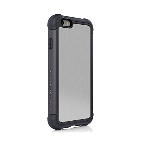 iPhone 6s Plus Case, Ballistic [Tungsten Tough Series] Ultra Protective 7 Ft.Drop Test Certified Protective Case for Apple iPhone 6 Plus and 6s Plus Brushed Onyx and Gray
