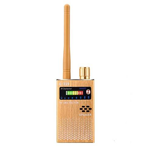Rilevatore Segnale Antispia Rilevatore Segnale GPS Rilevatore Wireless Telecamere Segnale Camera Spia Cimici Scanner GPS RF Trova Dispositivi GSM (Bianco)