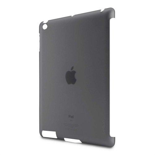 Belkin Snap Shield F8N744cwC00 Schutzhülle (passend für Smart Cover) für iPad 4, iPad 3rd Generation, iPad 2 schwarz/transparent