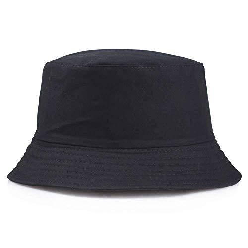 Sombrero Pescador Gorras Sombrero Plegable De Panamá Para Mujer, Unisex, Para Exteriores, Protector Solar, Algodón, Pesca, Caza, Gorra Para Hombres, Chapeau, Sombreros Para Prevenir El Sol, Negro
