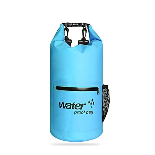 Bolsa Seca De PVC Impermeable para Deportes De 10 L, Bolsa Seca Impermeable para Exteriores, para Deriva, Paseos En Bote, Senderismo, Acampada Y Pesca