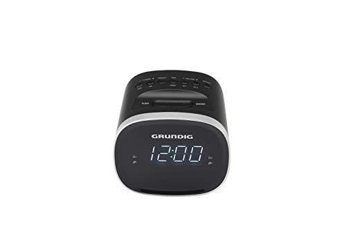 Grundig Sonoclock 2500 BT Wecker Schwarz/USB-Ladefunktion/Bluetooth/Weckfunktion/Sleep Funktion/UKW-Tuner