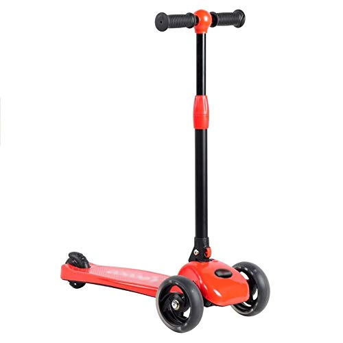 Read About HNSYDS Simple Version of The Scooter for Children 2-5 Years Old 3-Wheel Flash Single Peda...